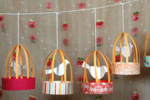 Decoração de passarinhos para quarto de bebê – Faça você mesmo