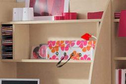 Caixa artesanal para organizar seu escritório