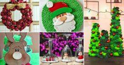 10 ideias de artesanato para o Natal
