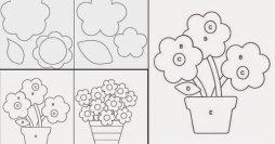 5 Moldes De Flores Gratuitos Para Você Baixar