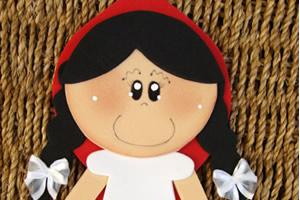 Chapeuzinho vermelho – decoração de festa infantil em EVA