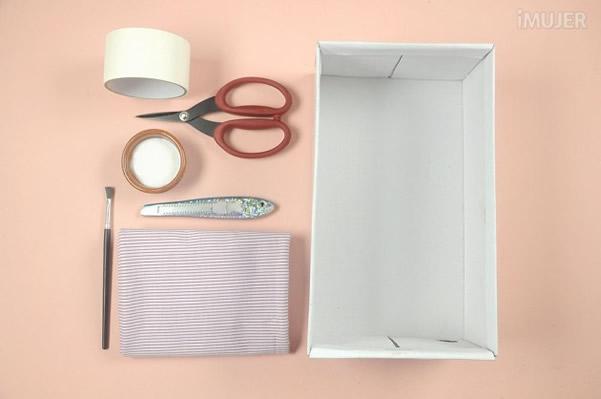 caixa organizadora materiais