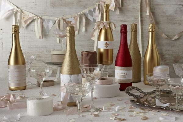 garrafa decorada diversa casamento