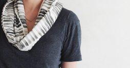 Faça você mesmo: lenço estampado sem costura