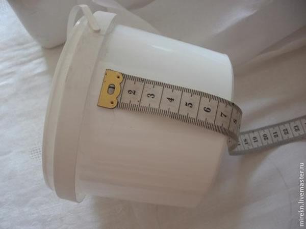 medir embalagem