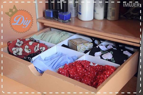 Aprenda a fazer um organizador de gavetas para facilitar a sua vida revista artesanato - Organizador de ropa interior ...