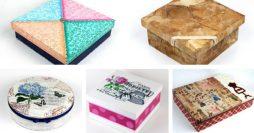 Caixas Personalizadas – 10 Modelos Incríveis Passo a Passo