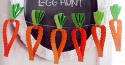 8 Ideias de Decoração com Cenoura Para a Páscoa