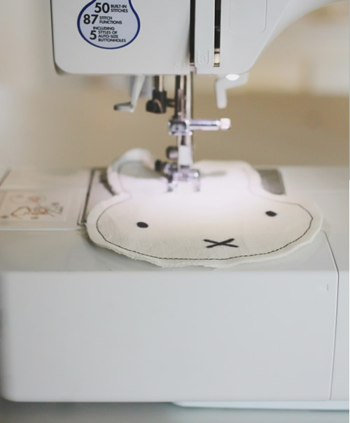 costurar coelhinho