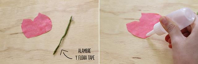 Montagem flor como filtro de café
