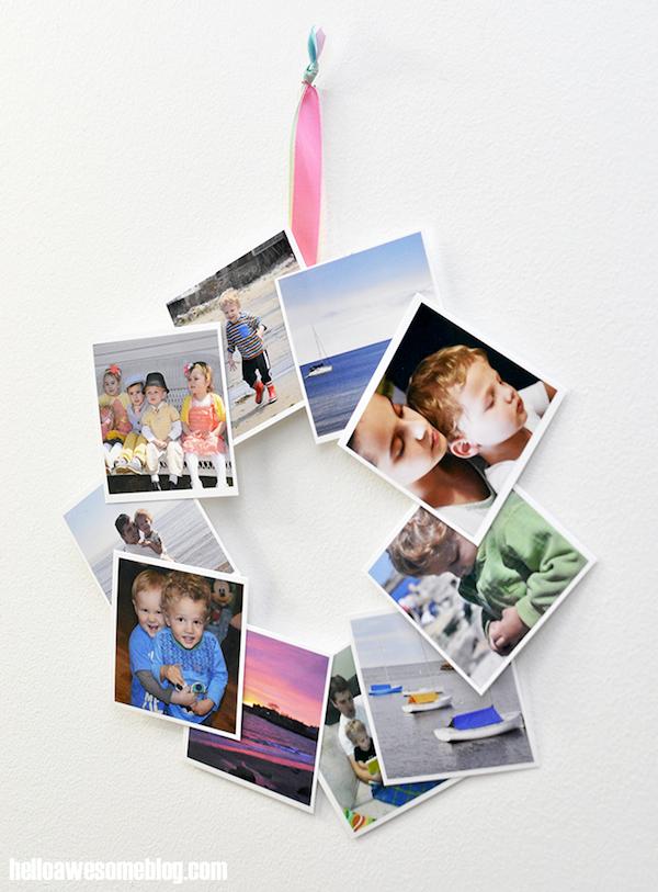 Projeto faça você mesmo: guirlanda com fotos do instagram