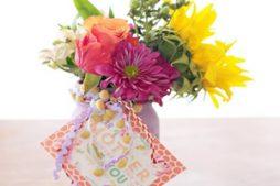 Presente Para o Dia das Mães – Frascos Decorados com Flores