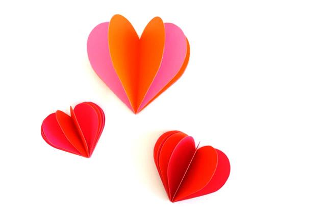 Abra a pilha de corações