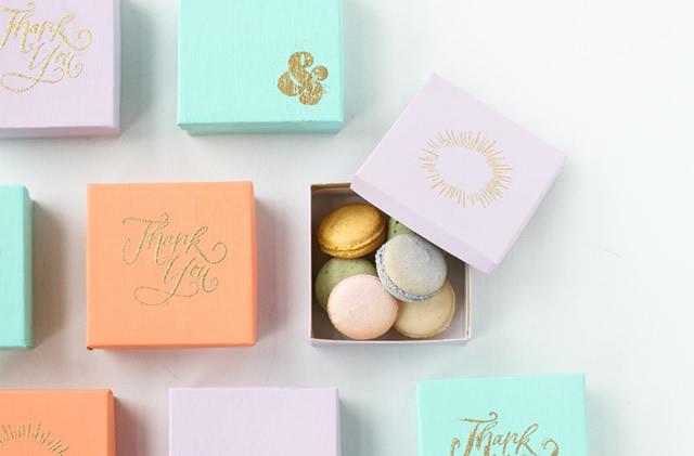 Sua caixa de doces decorada já está pronta