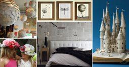 Artesanato com jornal – 10 ideias espetaculares