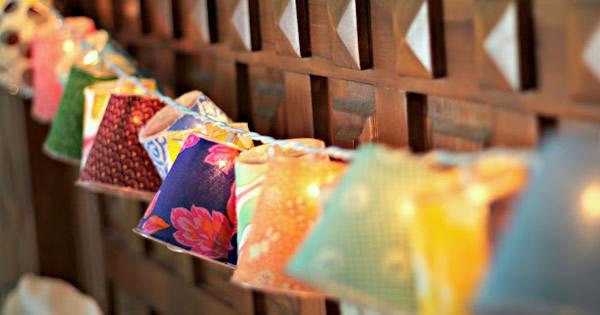 decoracao festa glow:Luminárias artesanais para decorar Festa Junina – Faça Você Mesmo