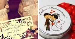 5 Lembrancinhas de Casamento Que Custam Menos de 1 Real
