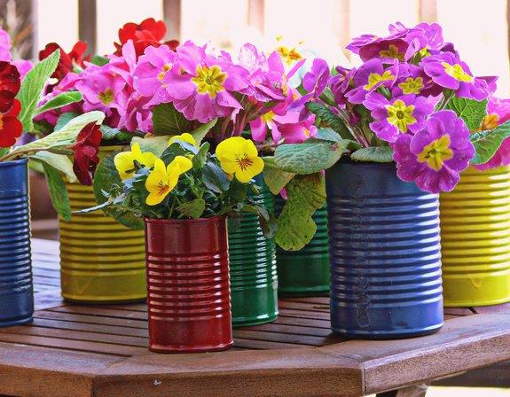 latas jardineiras
