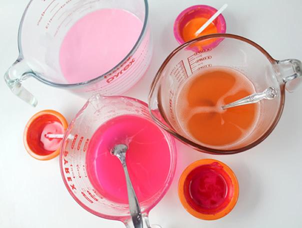 sabonete artesanal processo