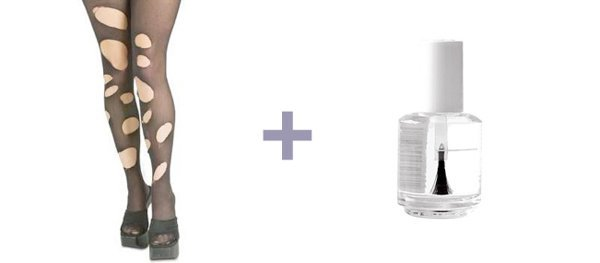Como evitar furos em sua meia-calça