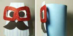Porta Trecos de Gravata – Artesanato Divertido em EVA