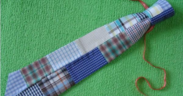 imagem destacada gravata de retalhos