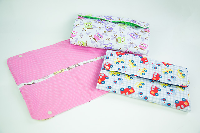 porta fraldas de tecido