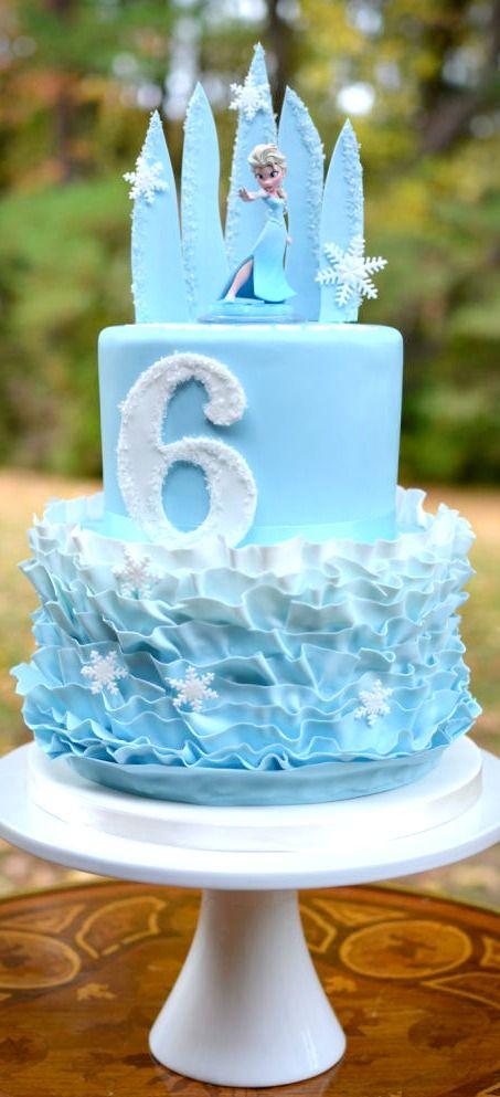 bolo festa frozen 3