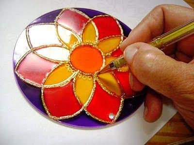 artesanato em vidro