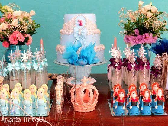 mesa festa frozen 2