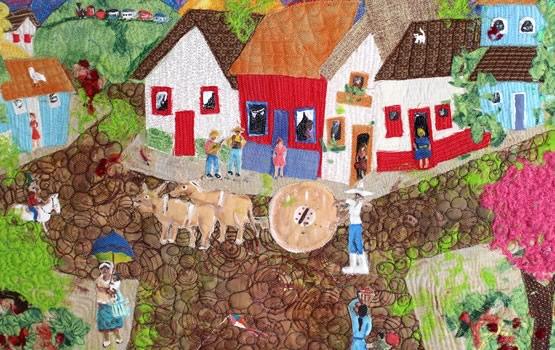 Patchwork passo a passo 5 ideias para fazer hoje mesmo - Casas de patchwork ...