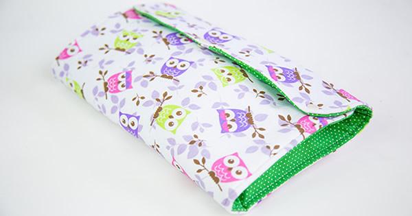 porta fraldas de tecido capa