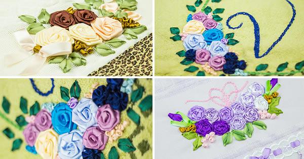 toalhas bordadas- inicie seu negócio artesanal