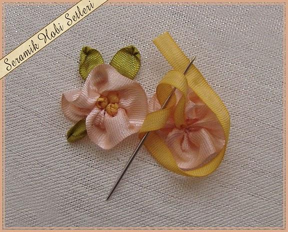 bordado miolo da flor