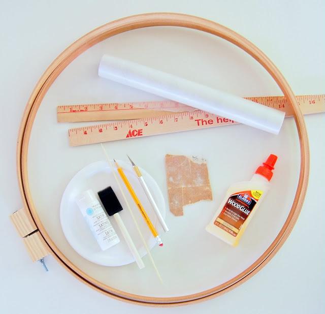 materiais necessários para fazer a prateleira de madeira