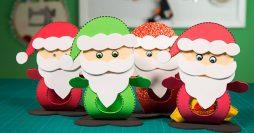 Lembrancinha de Natal – Porta Bombom em EVA