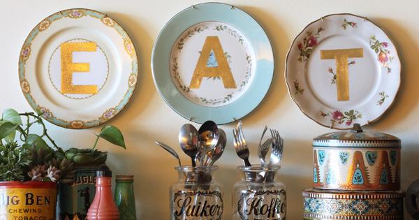 pratos decorados capa