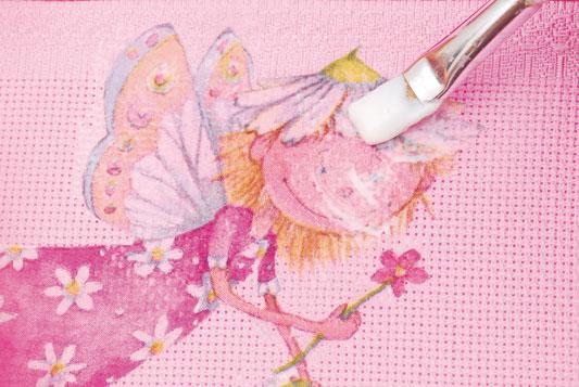 toalha-decoupage em tecido com guardanapo