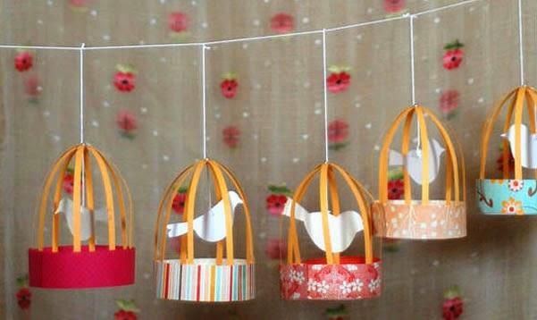 decoração para quarto infantil passarinhos