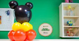 Decoração com Balões para Festa do Mickey