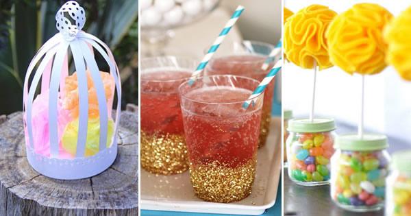 decoracao festa simples:Festa Infantil – 7 Ideias de Decoração Simples e Barata