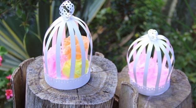 gaiolas de papel decoração de festas