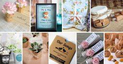 9 Lembrancinhas de Casamento Simples e Criativas