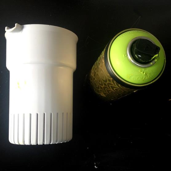 materais para fazer a luminária