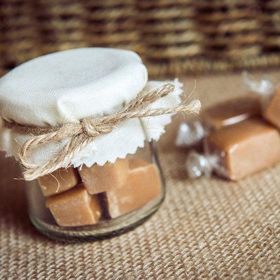 potinho de doce para lembrança de casamento