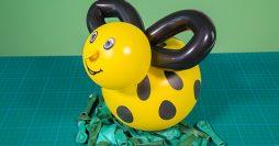 Decoração com Balões – Enfeite de Abelhinha