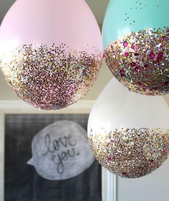 balões-decorados-com-glitter