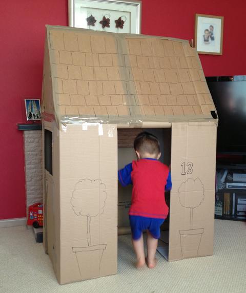 19 modelos de casinha de papel o que as crian as v o amar for Construire des box garage