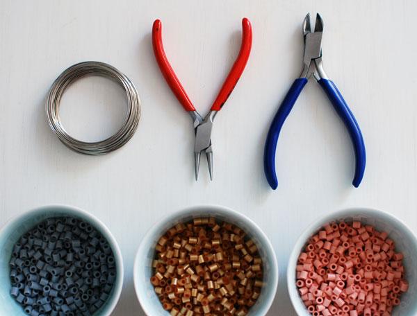 pulseira-de-miçanga-materiais