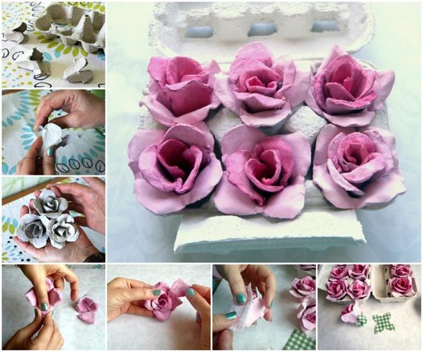 rosas-de-caixa-de-ovo-para-decoração